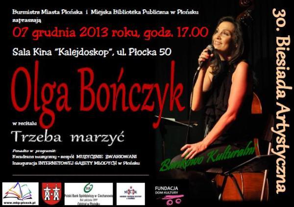 30 Biesiada Artystyczna Olga Bonczyk Plakat