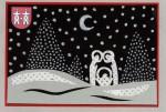 Kartka Świąteczna Płońsk 2013 wyróżnienie Luiza Malińska