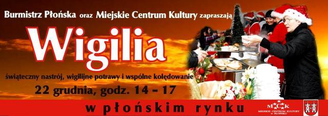 Wigilia Płońsk 2013