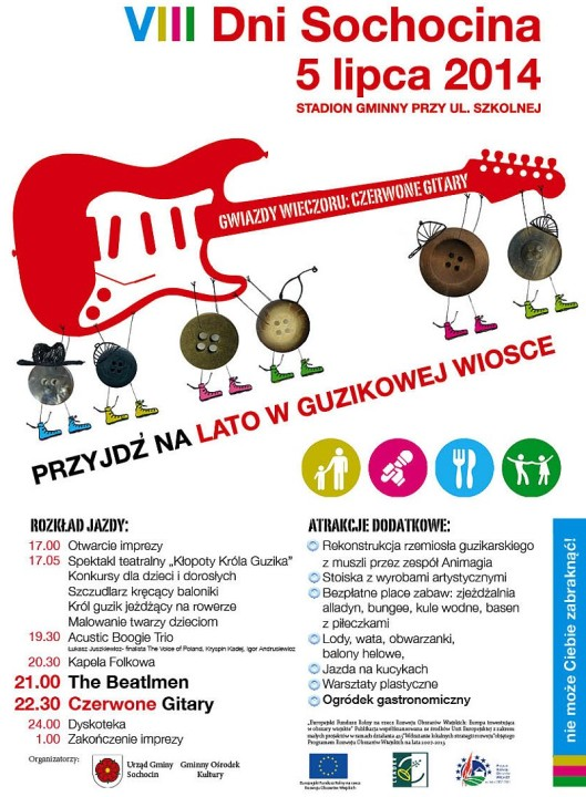 VIII Dni Sochocina 2014 plakat
