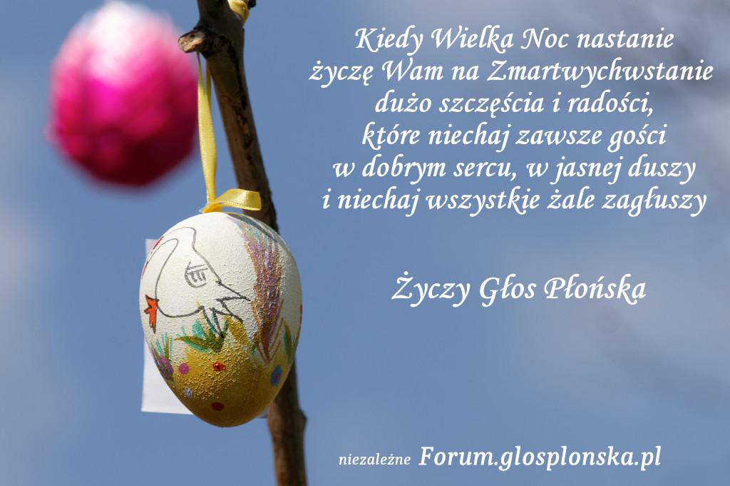 Życzenia Wielkanocne Płońsk 2015