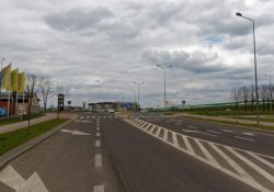Skrzyżowanie Żołnierzy Wyklętych Sienkiewicza w Płońsku 2