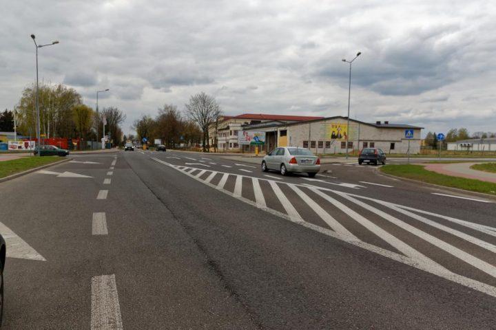 Skrzyżowanie Żołnierzy Wyklętych Sienkiewicza w Płońsku 1